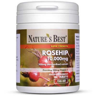 Nature's Best-Rosehip 10,000mg - High Strength Tablets-60 tablets