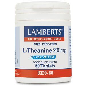 Lamberts L-Theanine Tablets 200mg Pack of 60