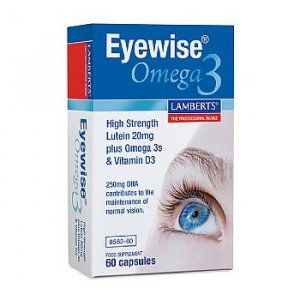 Lamberts Eyewise Omega 3 Capsules Pack of 60