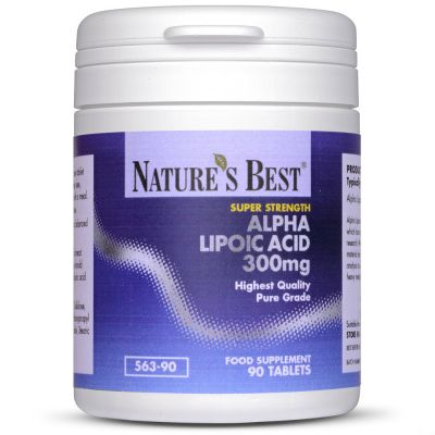 Nature's Best-Alpha Lipoic Acid 300mg-90 tablets