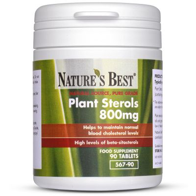 Nature's Best-Plant Sterols 800mg-90 tablets
