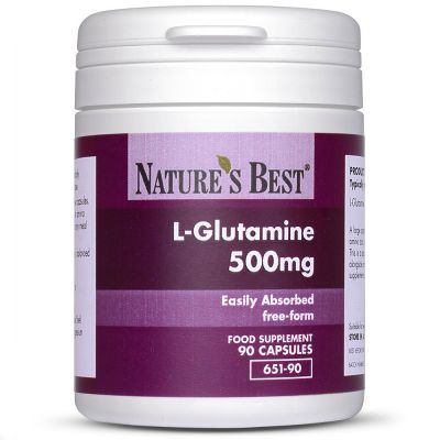 Nature's Best-Glutamine 500mg-90 capsules