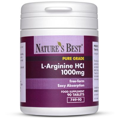 Nature's Best-Arginine 1000mg- 90 tablets