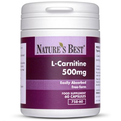 Nature's Best-Carnitine 500mg-60 capsules