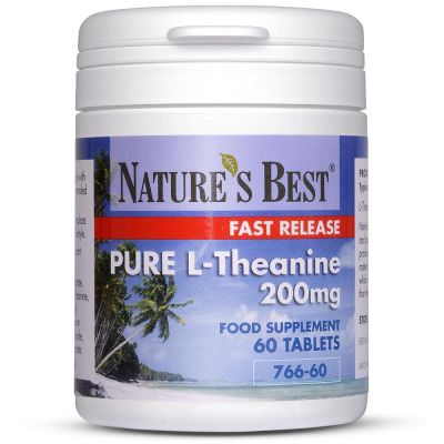 Nature's Best-Theanine 200mg-60 tablets