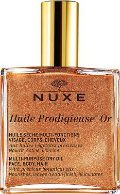 Nuxe Huile Prodigieuse Or Multi-Purpose Golden Dry Oil - Face, Body and Hair