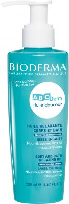 Bioderma ABCDerm Huile Douceur - Body and Bath Relaxing Oil 200ml