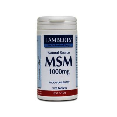 Lamberts MSM Tablets 1000mg Pack of 120