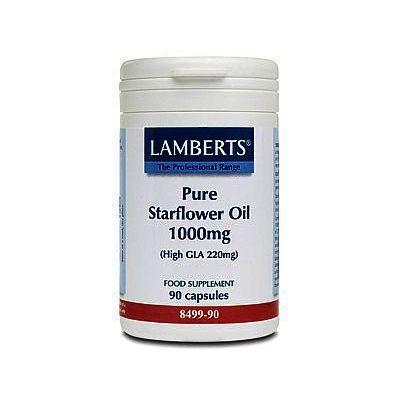 Lamberts Starflower Oil Capsules 1000mg Pack of 90