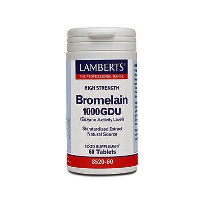 Lamberts Bromelain Capsules 500mg Pack of 60