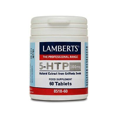 Lamberts 5-HTP 100mg Tablets Pack of 60