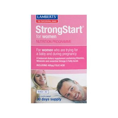 Lamberts StrongStart for Women Pack of 60 (30 Day Supply)