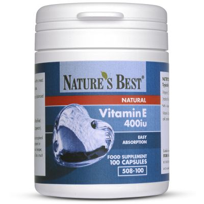 Nature's BestVitamin E 400iu (268mg)-100 capsules
