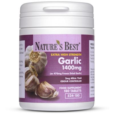 Nature's Best-Garlic Tablets 1400mg-180 tablets