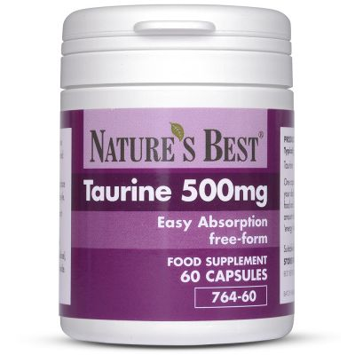 Nature's Best-Taurine 500mg-60 capsules