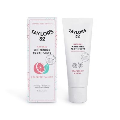 Taylor's 32 Grapefruit & Mint toothpaste
