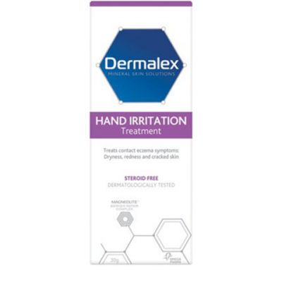 Dermalex Hand Irritation Treatment for mild to moderate eczema - 60g