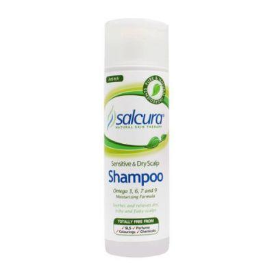 Salcura Omega Rich Formula Shampoo for Dry, Itchy Skin - 200ml
