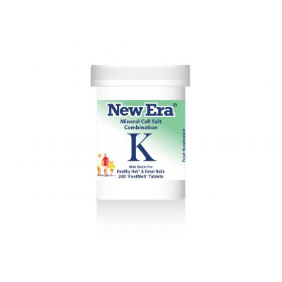 NEW ERA-COMBINATION K - HEALTHY HAIR & GREAT NAILS. 240 TABS